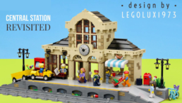 [Bouwsinstructies] LEGO 4554 Central Station Revisited