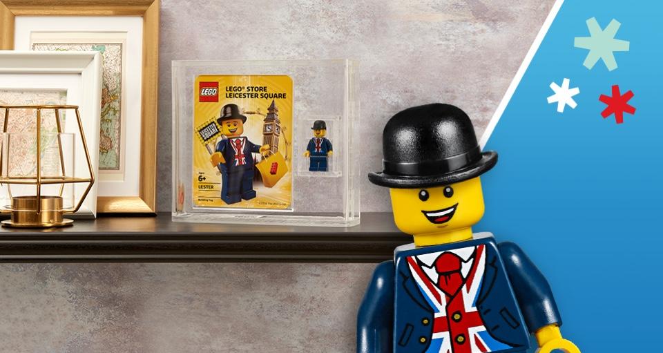 Graded LEGO Lester Minifigure Sweepstake