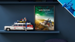 Gratis LEGO Ghostbusters: Afterlife Ecto-1 poster