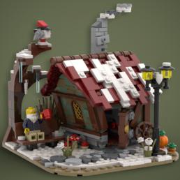 Kerstvignet - JesseTheBuilder