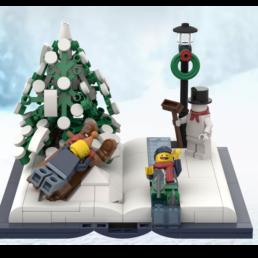 Kerstvignet - Pieter Beens
