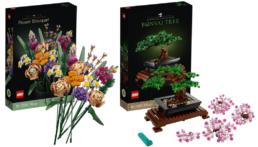 LEGO 10280 Flower Bouquet - LEGO 10281 Bonsai Tree