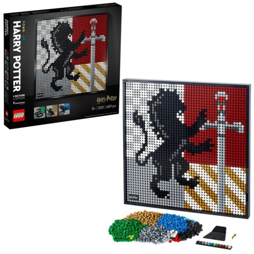 LEGO Art 31201 Harry Potter Hogwarts Crests