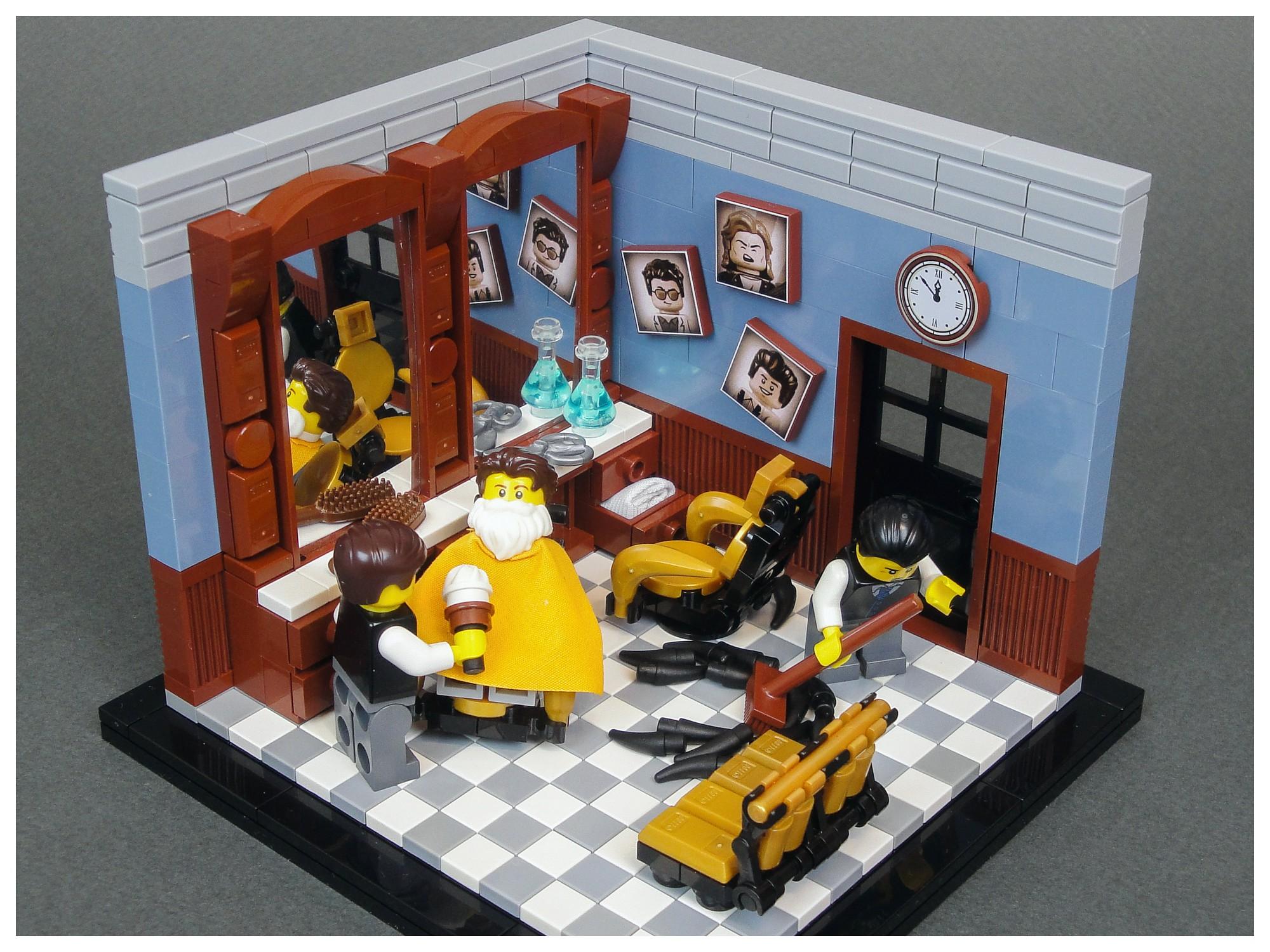 LEGO Barbershop - Maxim Baybakov