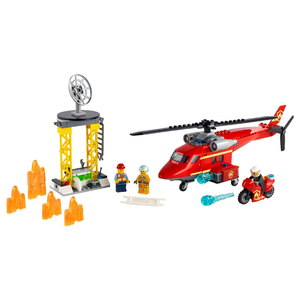LEGO City 60281 City Fire Rescue Helicopter
