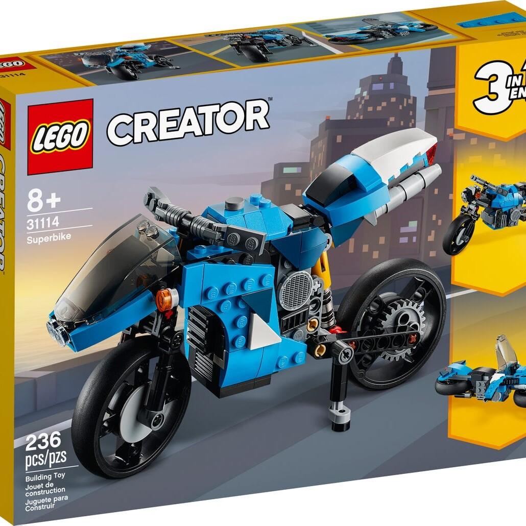 LEGO Creator 31114 Motorbike