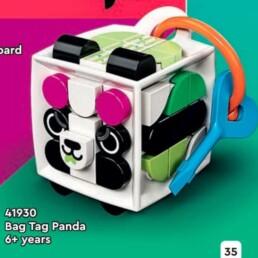 LEGO DOTS 41930 Panda Bag Charm