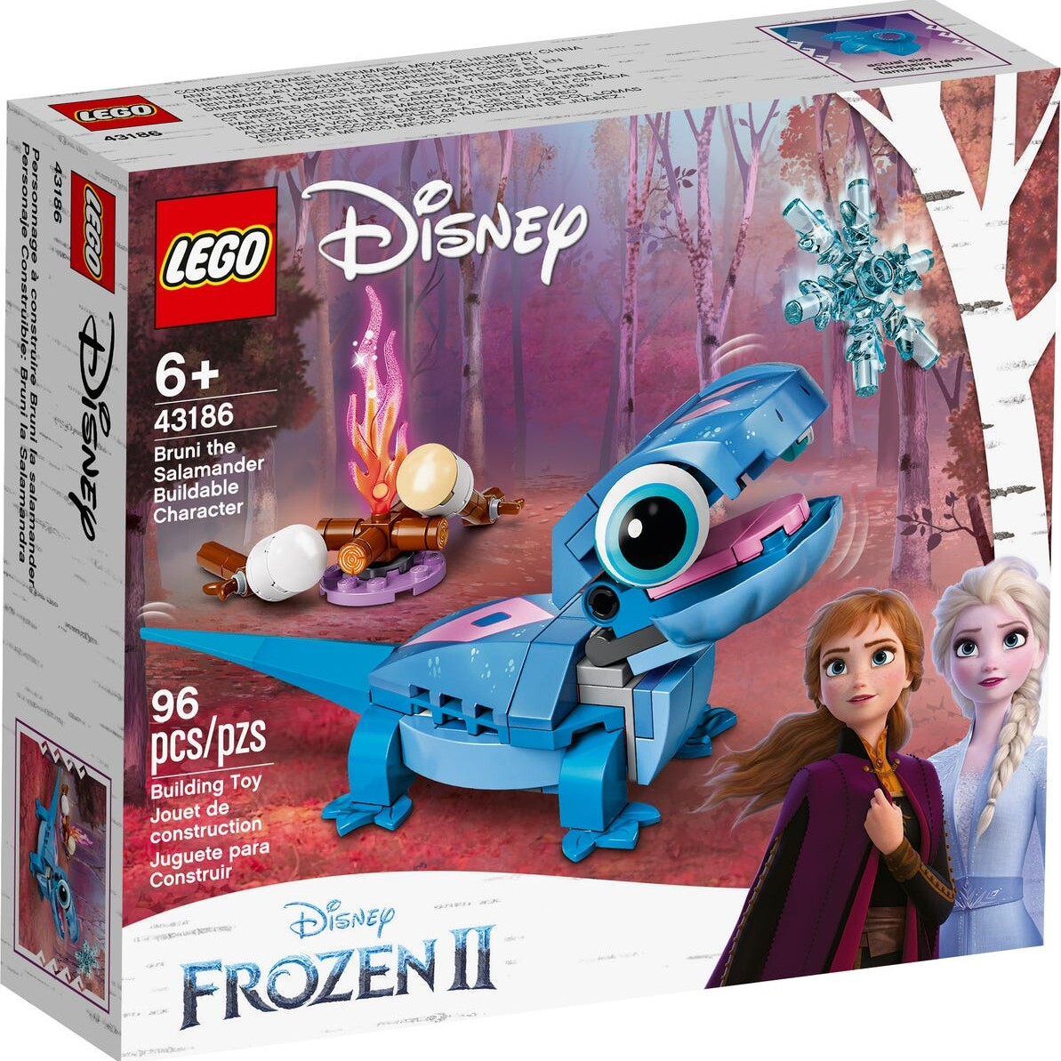 LEGO Disney 43186 Bruni the Salamander