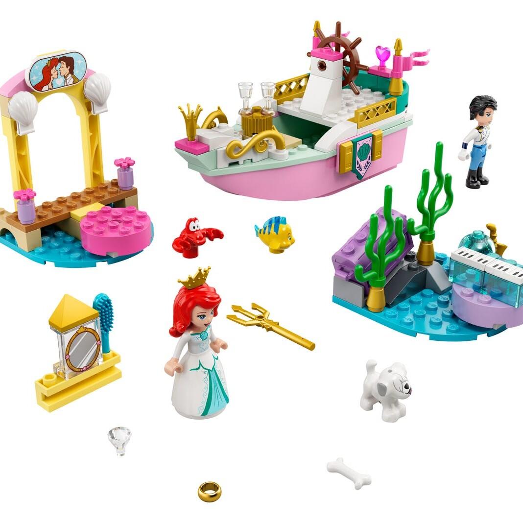 LEGO Disney 43191 Ariel's Celebration Boat