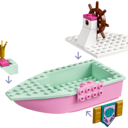 LEGO Disney 43191 Ariel's Celebration Boat
