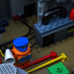 LEGO Ideas Among Us The Skeld
