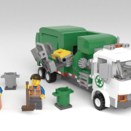 LEGO Ideas Automated Garbage Truck