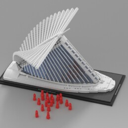 LEGO Ideas Milwaukee Art Museum bereikt 10K supporters