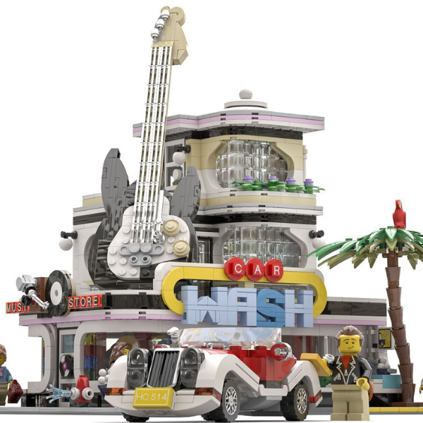 LEGO Ideas The Car Wash bereikt 10K supporters (1)