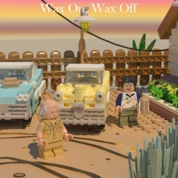 LEGO Ideas The Karate Kid Wax On, Wax Off