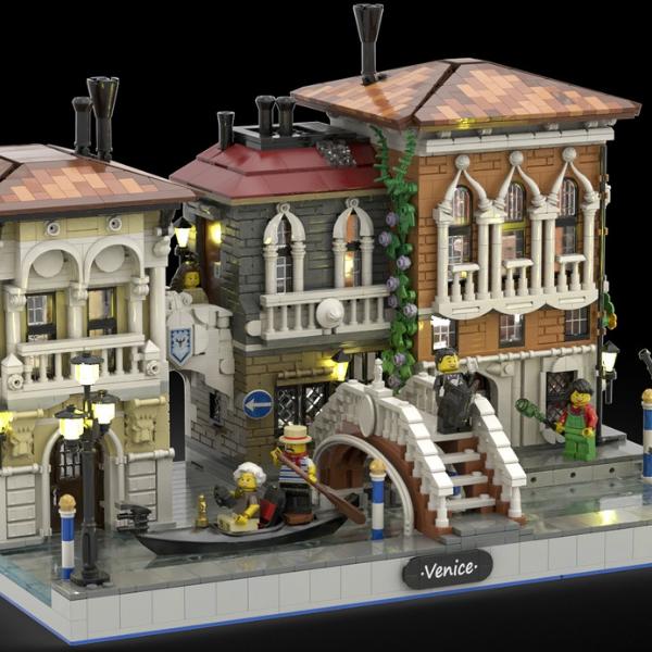 LEGO Ideas The Little Venice