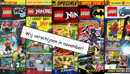 LEGO Magazines en boeken november 2020