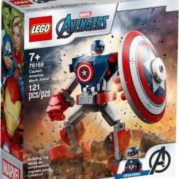 LEGO Marvel 76168 Captain America Mech Armour