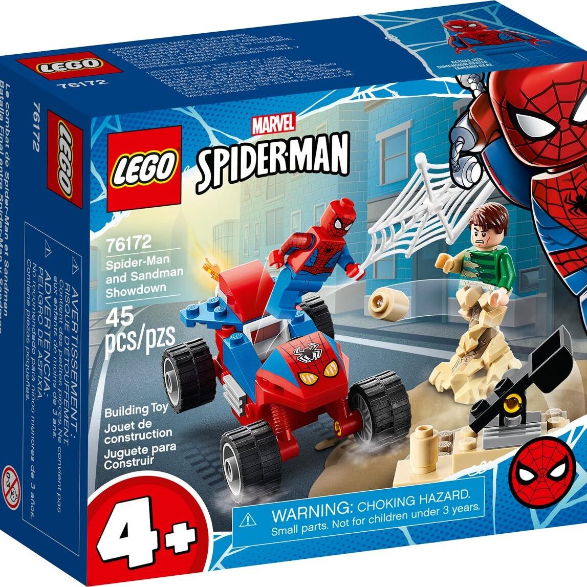 LEGO Marvel 76172 Spider-Man and Sandman Showdown