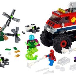 LEGO Marvel 76174Spider-Man's Monster Truck vs. Mysterio