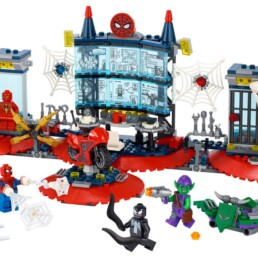 LEGO Marvel 76175Spider-Man Attack on the Spider Lair