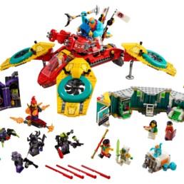 LEGO Monkie Kid 80023 Monkie Kid's Team Quadcopter