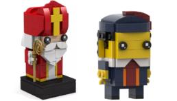 LEGO Sinterklaas en Piet BrickHeadz