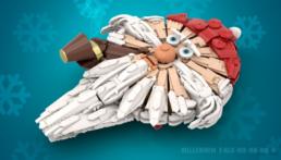 [TOP 10] Feestelijke LEGO Star Wars MOC's