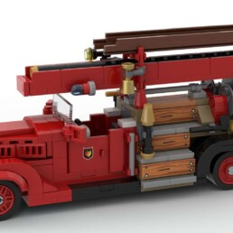 Vintage LEGO Dutch Fire Truck - SugarBricks