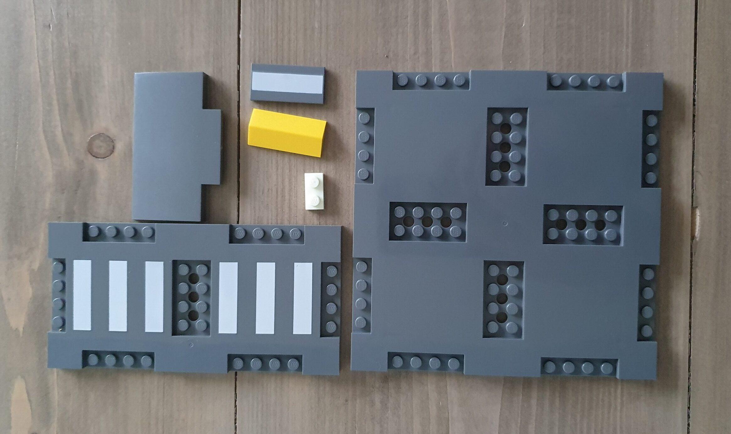 LEGO 60304 Road Plates Onderdelen