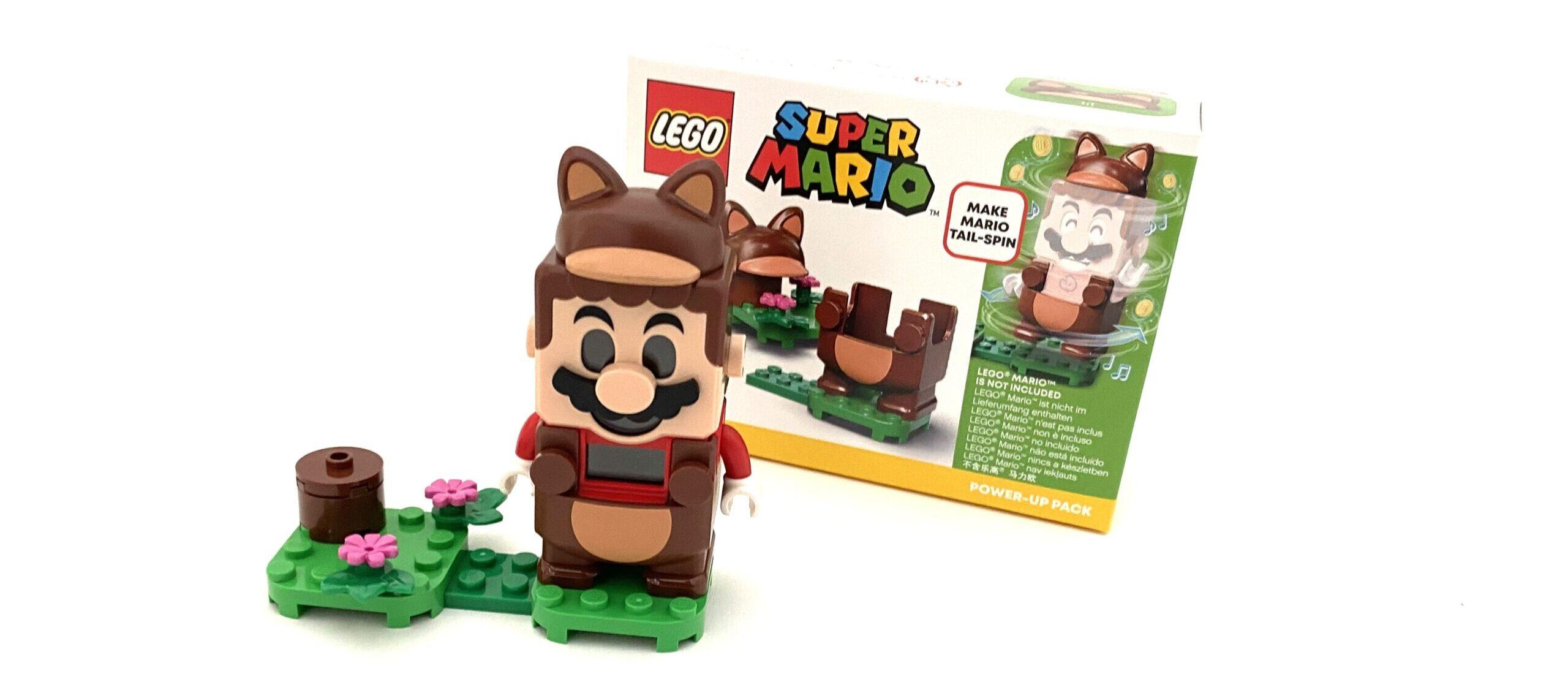 LEGO Super Mario Power-Up Packs: 71384 Penguin Mario en 71385 Tanooki Mario
