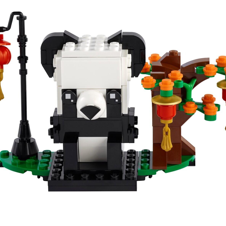 LEGO 40466 Chinese New Year Panda's