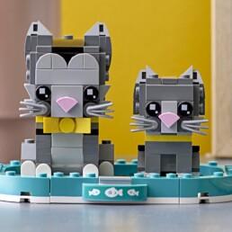 LEGO BrickHeadz 40441 Shorthair Cats