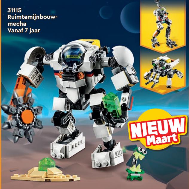 LEGO Creator 31115 Space Mining Mech