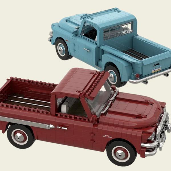 LEGO Ideas GMC - Blue Chip 100