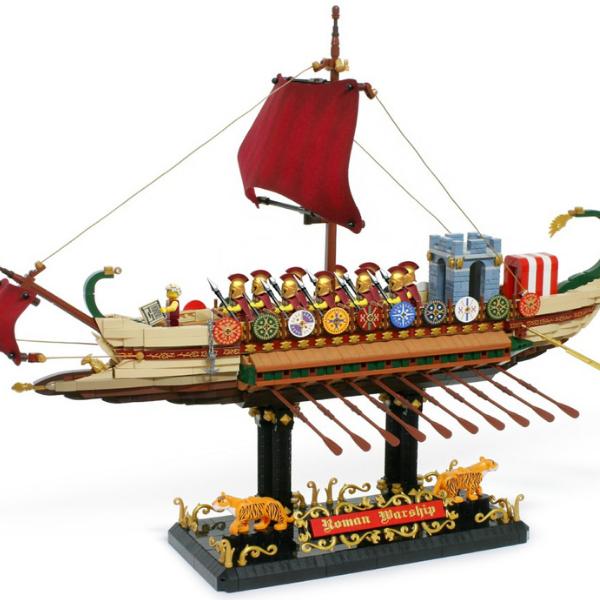 LEGO Ideas Roman Warship