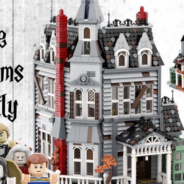 LEGO Ideas The Addams Family Mystery Mansion