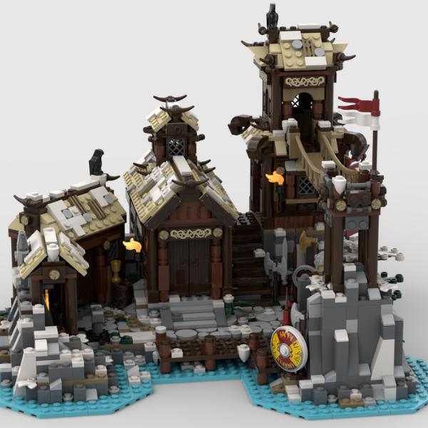 LEGO Ideas Viking Village