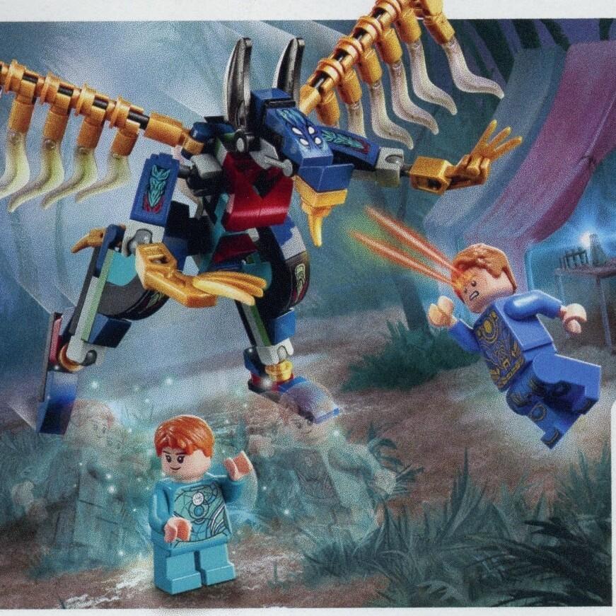 LEGO Marvel 76145 Eternals' Aerial Assault