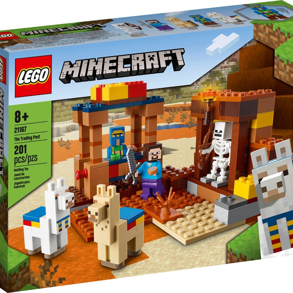 LEGO Minecraft 21167 The Trading Post