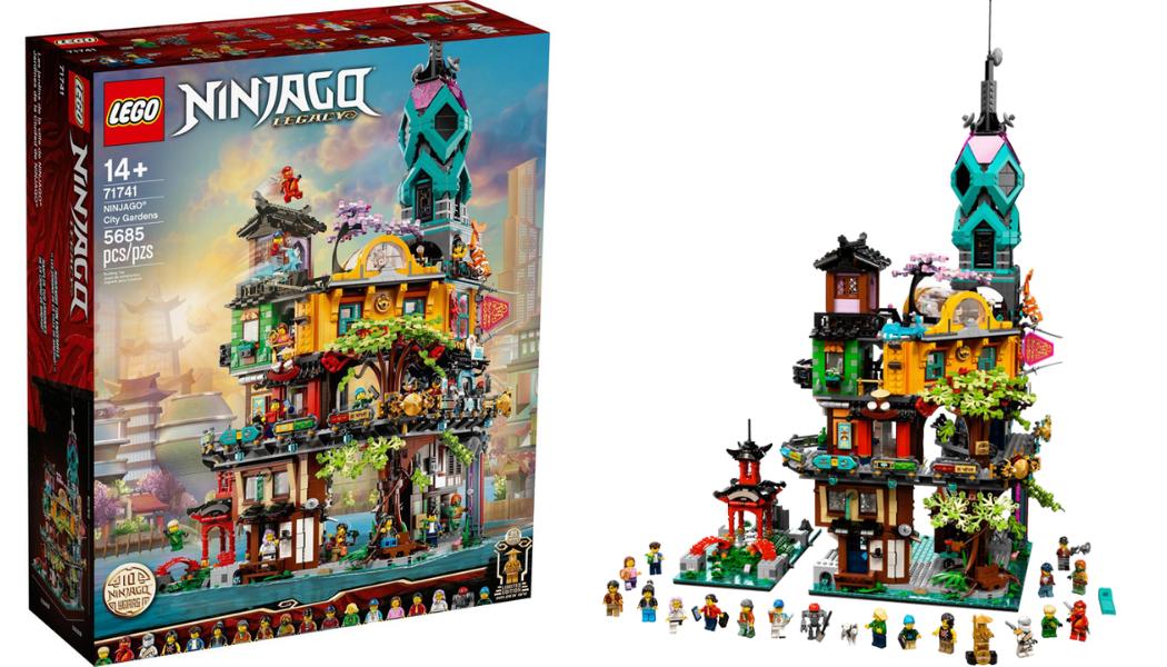 LEGO Ninjago 71741 City Gardens