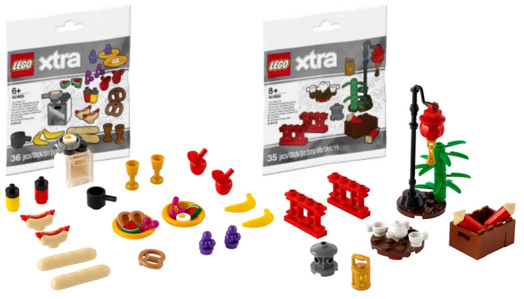 LEGO Xtra 40464 Chinatown - LEGO Xtra 40465 Food