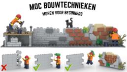 [MOC Bouwtechnieken] Muren voor Beginners