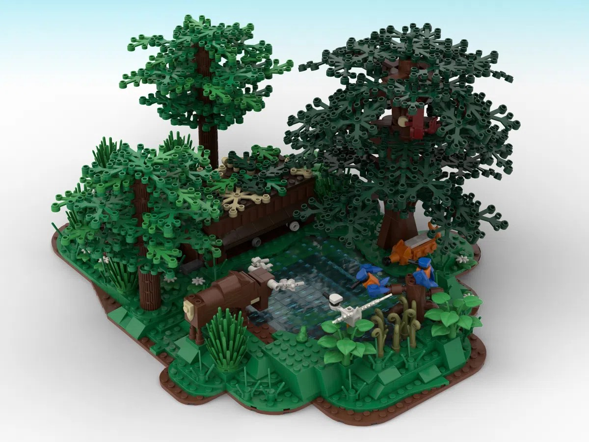 LEGO Ideas Nature Photography Cabin