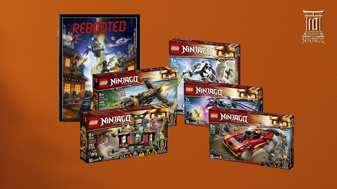 10 Years of LEGO Ninjago!