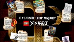 10 jaar LEGO Ninjago