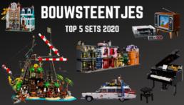 Bouwsteentjes Top 5 sets 2020