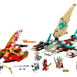 LEGO 71748 NINJAGO Catamaran Sea Battle