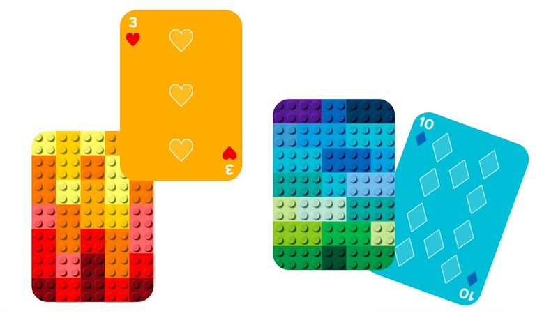 LEGO Brick Playing Cards