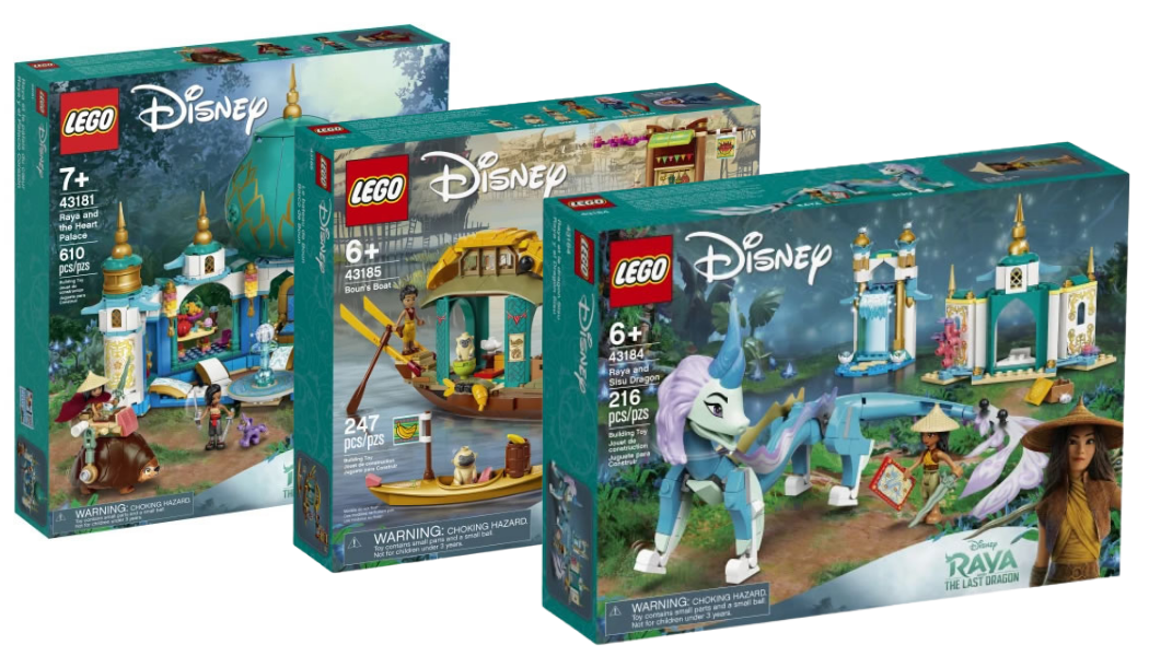 LEGO Disney Raya and the Last Dragon